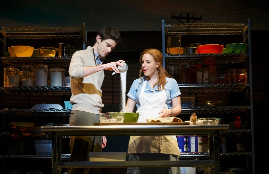 PS - Waitress - Drew Gehling - Jessie Mueller - 4/16 - Joan Marcus