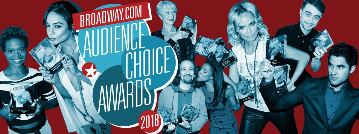 LI - Broadway.com Audience Choice Awards - 4/18 - Bruce Glikas - Caitlin McNaney - Emilio Madrid-Kuser