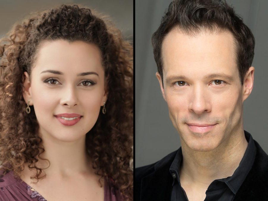 Shereen Ahmed & Larid Mackintosh - 7/19 - C/O  Lincoln Center Theater