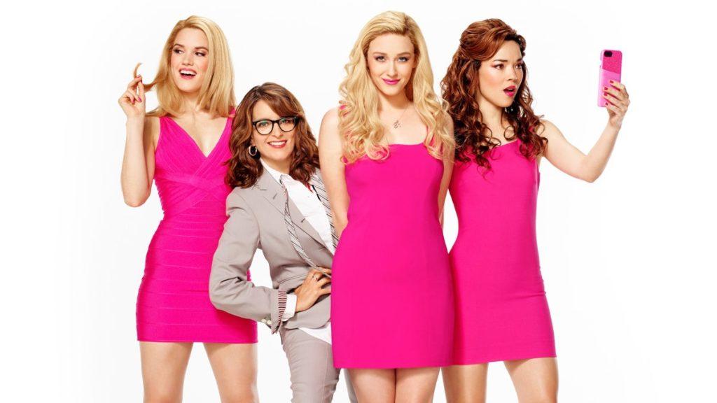 Mean Girls tour - Jonalyn Saxer as Karen - Tina Fey - Mariah Rose Faith as Regina George - Megan Masako Haley as Gretchen Wieners - 07/2019 - Mary Ellen Matthews