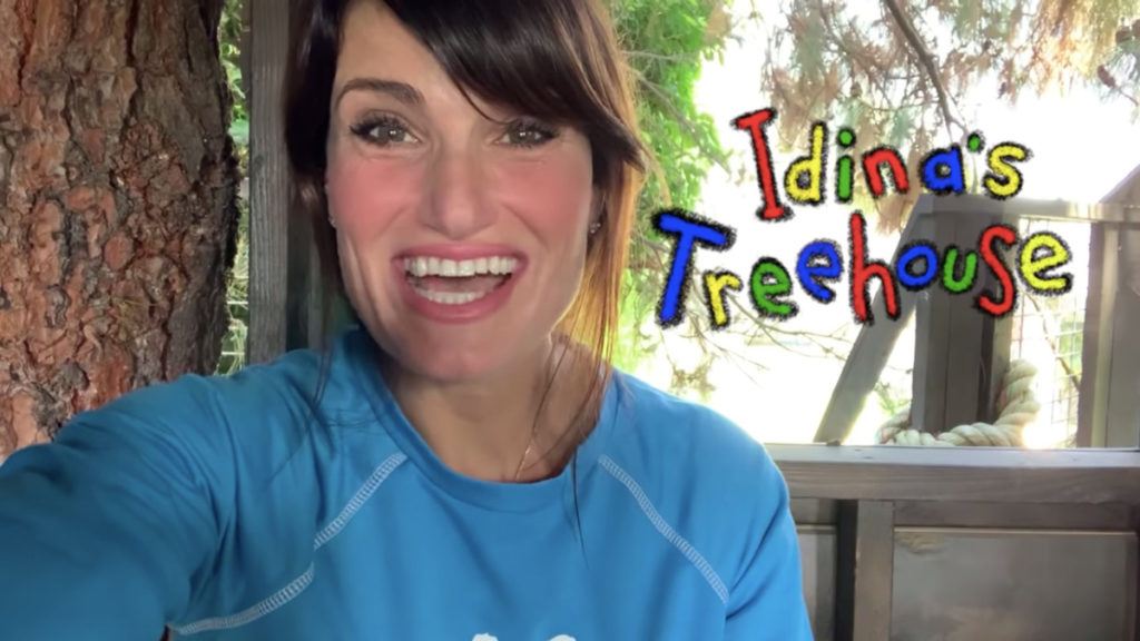 WI - Idina Menzel - Idina's Treehouse - 1/21
